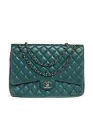 Brukte Quilted Leather Maxi Classic Double Flap Bag