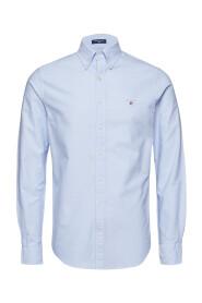 Blå Gant The Oxford Slim Skjorte