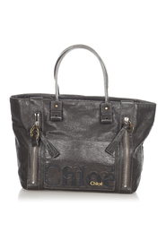 Eclipse Leather Tote Bag