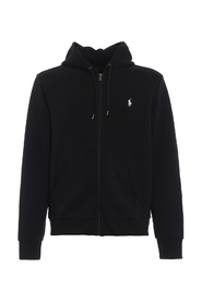 STRETCH COTTON HOODIE