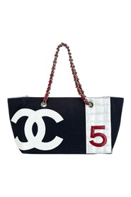 Pre-owned No. 5 Canvas Shopping Tote Bag