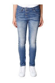 jeans P78 Please/blauw