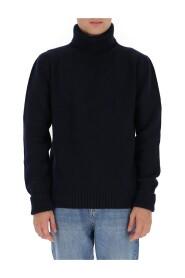rib-trimmed jumper