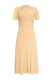 Dress with shirt sleeves