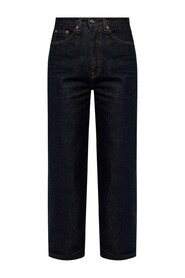 'Barrel' jeans with logo