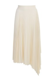 SWINTON PLEATED RIB SKIRT