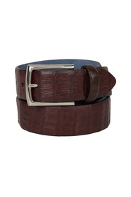 Belt with a squared buckle