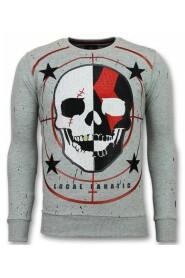 Skull Sweater God of War Men's Sweater