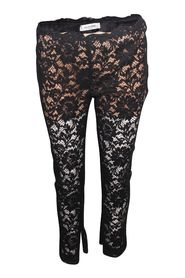 Lace Black Pants