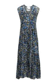 Maxi-Kleid gemustert