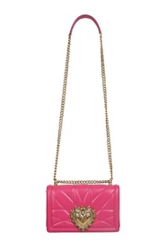 Medium Devotion Crossbody Bag In Quilted Nappa Leather