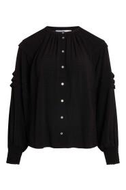 Cora Pleat Shirt