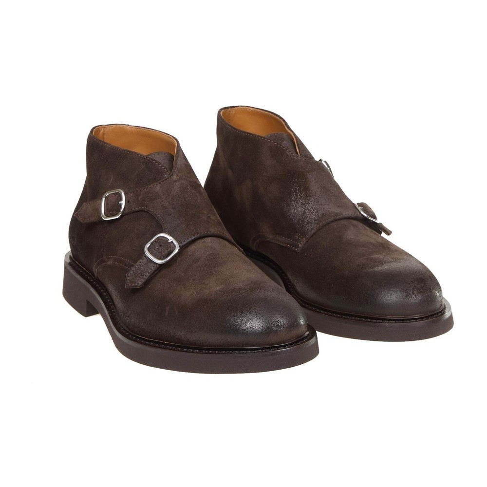 Doucal's Brown Ankle Boots DU2700GENOUF011M00 Doucal's