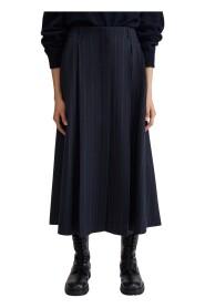 Alma Pinstripe Skirt