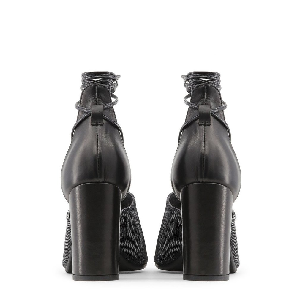 Black AMALIA Sandals | Made in Italia | High Heel Sandals | Women's shoes
