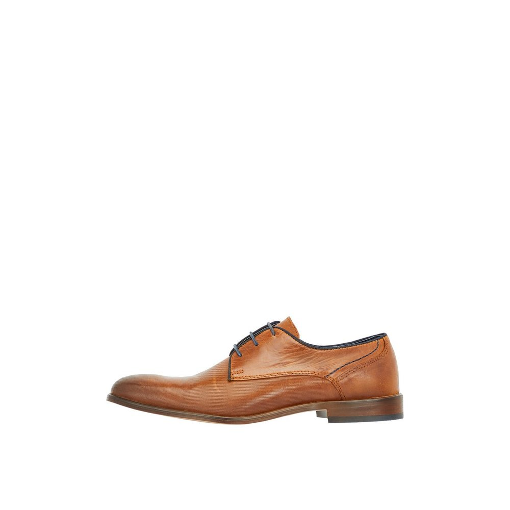 Derby Shoes Leather Lace-up