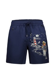 Nautical Bear Swim Trunks