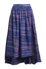 w21381114 rippling gathered skirt
