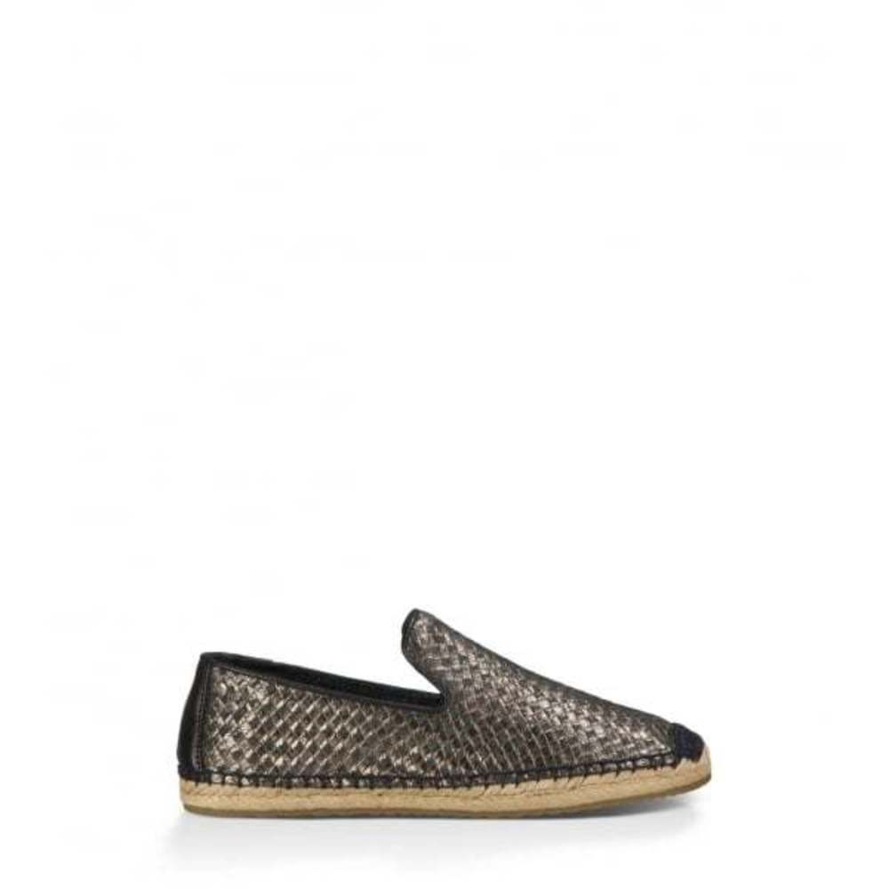 Ugg Sandrine Wmn Metallic Basket Black