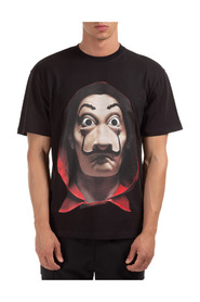 short sleeve t-shirt dali mask