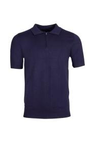 Salvo Polo Knit Blue