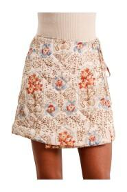 Vintage Wallpapeer Drape Skirt