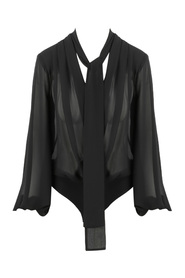 SHOULDER AND LAVALLIERE COLLAR BODY