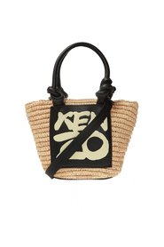 Woven tote bag with logo