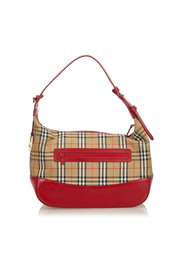 Haymarket Check Canvas Shoulder Bag