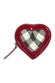 Brugt Heart Canvas Coin Pouch Fabric Canvas