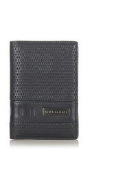 Pre-owned Leather Card Holder