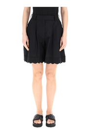 maxi shorts with trim