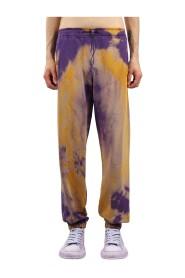 Pantaloni jogging effetto tie dye