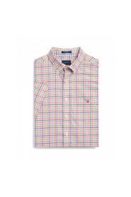 Col Gingham Reg Shirt