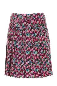 seasonal print skirt