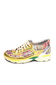 Tweed Holographic Sneakers