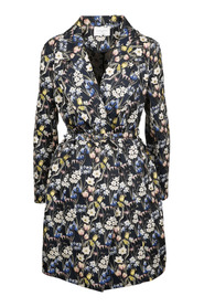 EMBROIDERED FLORAL COAT