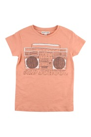 Small Rags T-shirt orange