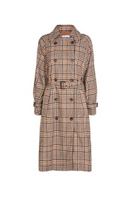 Trench Check Coat