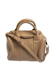 Pebbled Leather Small Rockie Satchel