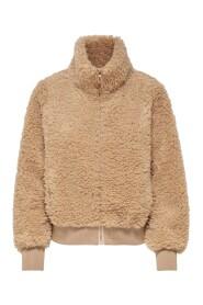 Ellie sherpa bomber jacket