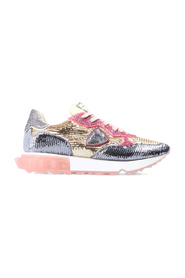 La Rue Sneakers With Sequins