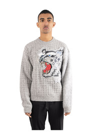 Maille tigre oversize