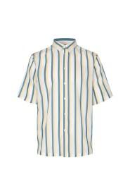 Koszula z krótkim rękawem Taro NX w paski tencel