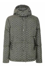 Quilted Coat With  Monogram