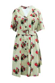 Floral Print Shirt Dress -Pre Owned Condition Good
