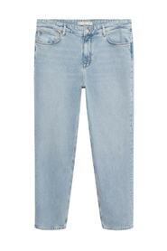Hillary loose-fit light wash jeans