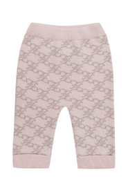 Trousers with logo