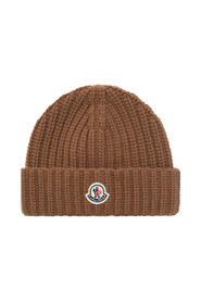 Knitted Hat With Logo
