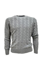 MEN'S BRAID SWEATER